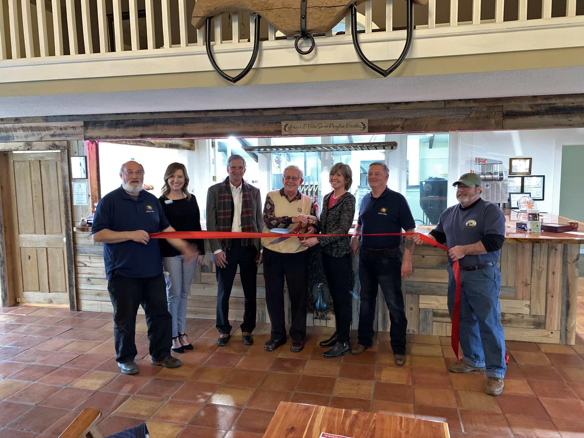 Catawba Farms Brewery celebrated their opening during a recent ribbon cutting ceremony. The brewery is located at 1670 Southwest Blvd. (U.S. 321 Business), Newton