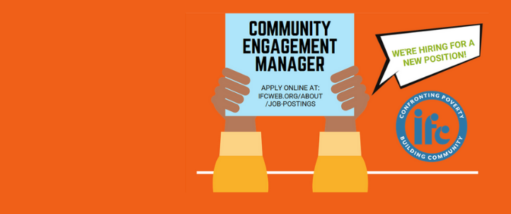 New Position Announcement: Community Engagement Manager