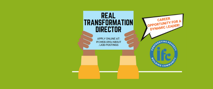 Now Hiring for: REAL Transformation Director