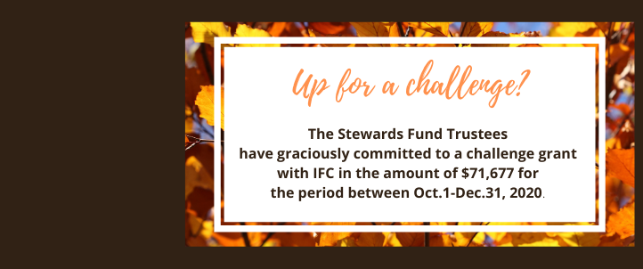 Give to the Stewards Fund Challenge