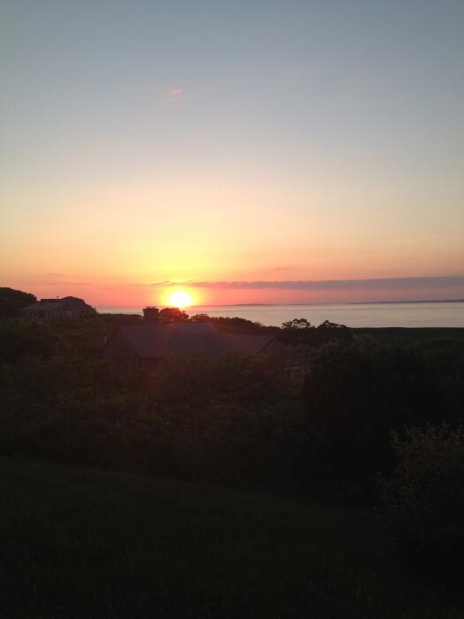 Sunset at Menemsha