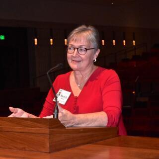 Mary Jo Speaking