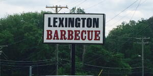 Lexington BBQ Sign