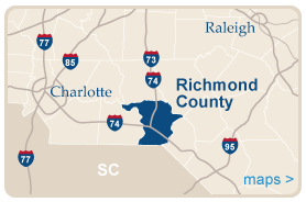 Richmond County Map