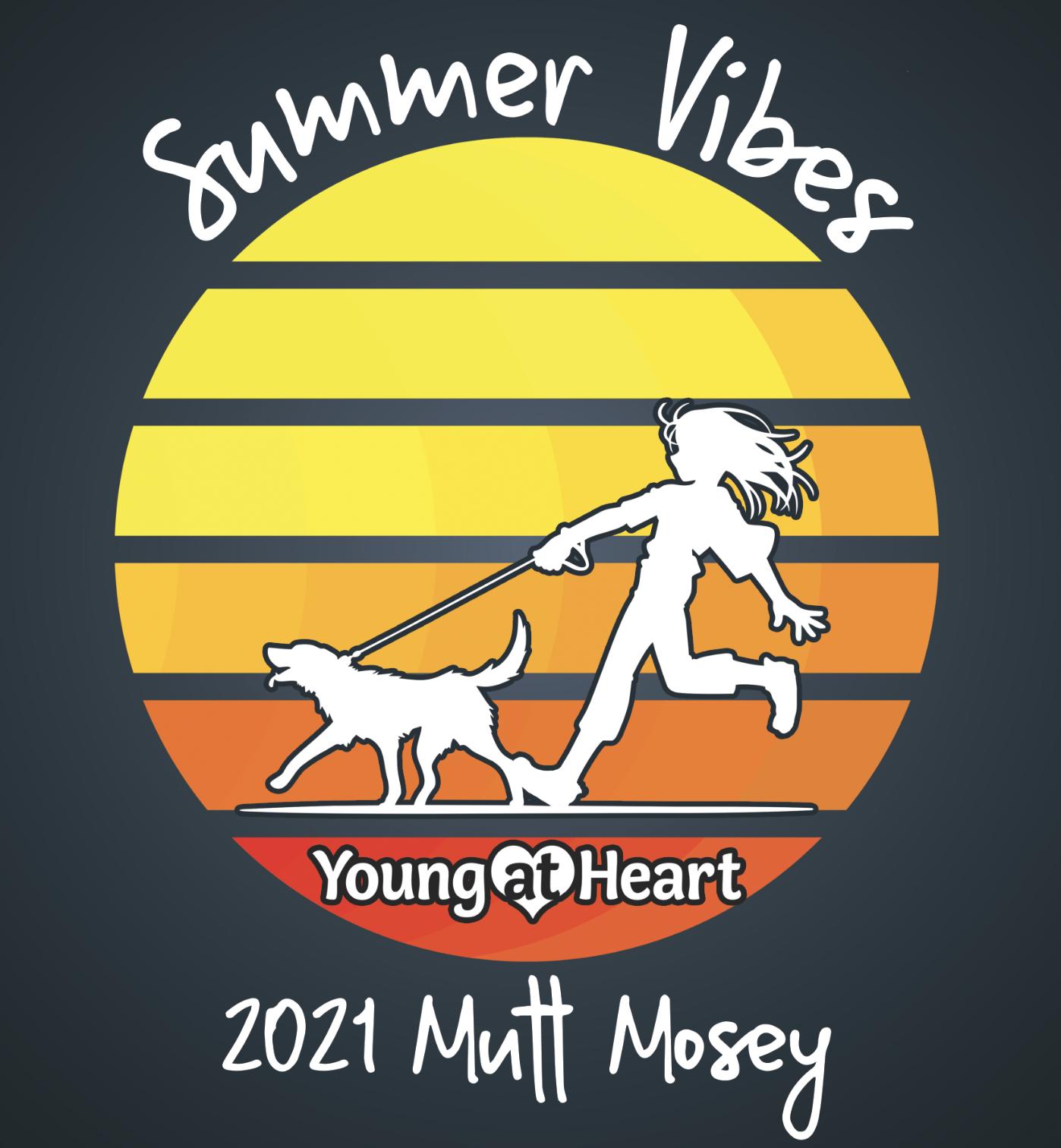 summer vibes mutt mosey