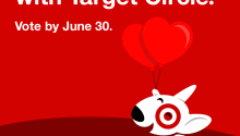 Vote for YAH in Target's Circle Program!