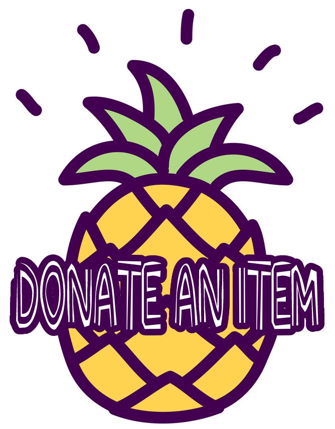 donate an item button