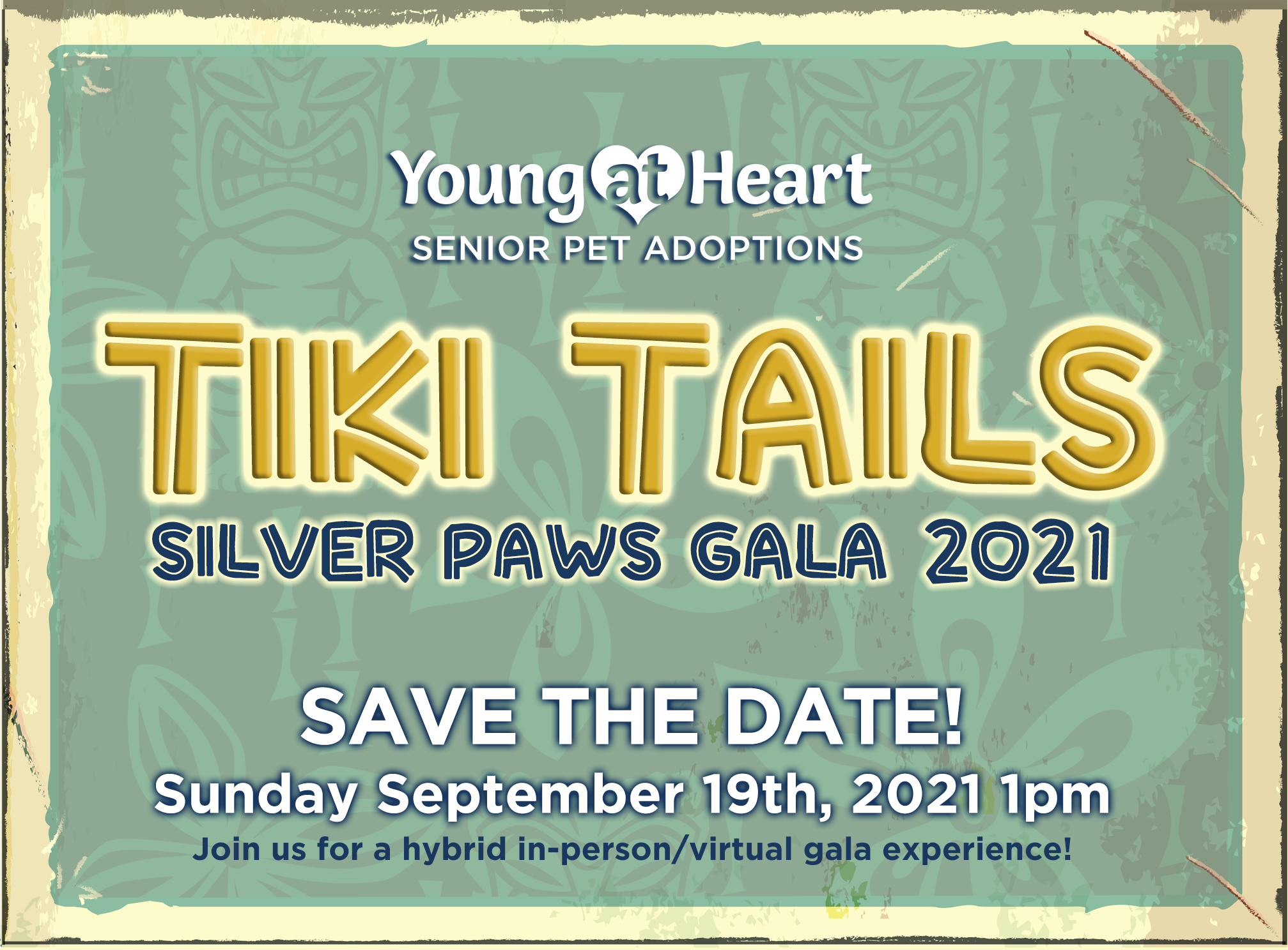 save the date tiki tails 2021