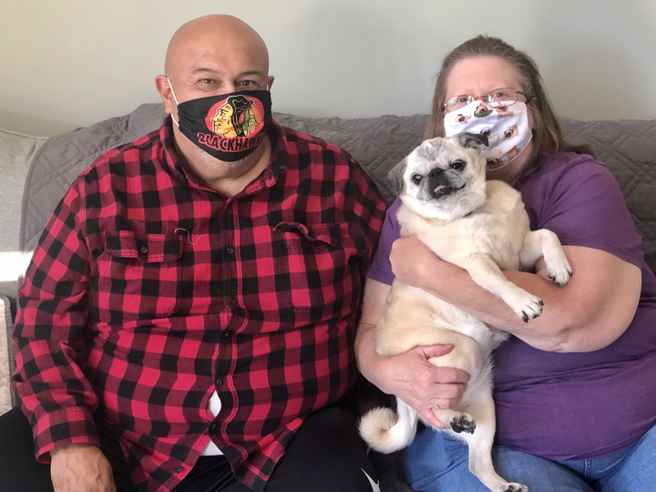 Zoey Adopted Pug