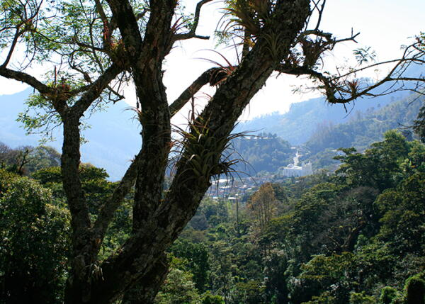The town of Belen Gualcho, Honduras