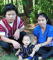 Dedication for the A Nying & MaChit Myaing family and Kyaw Kwai & Ta Paw family