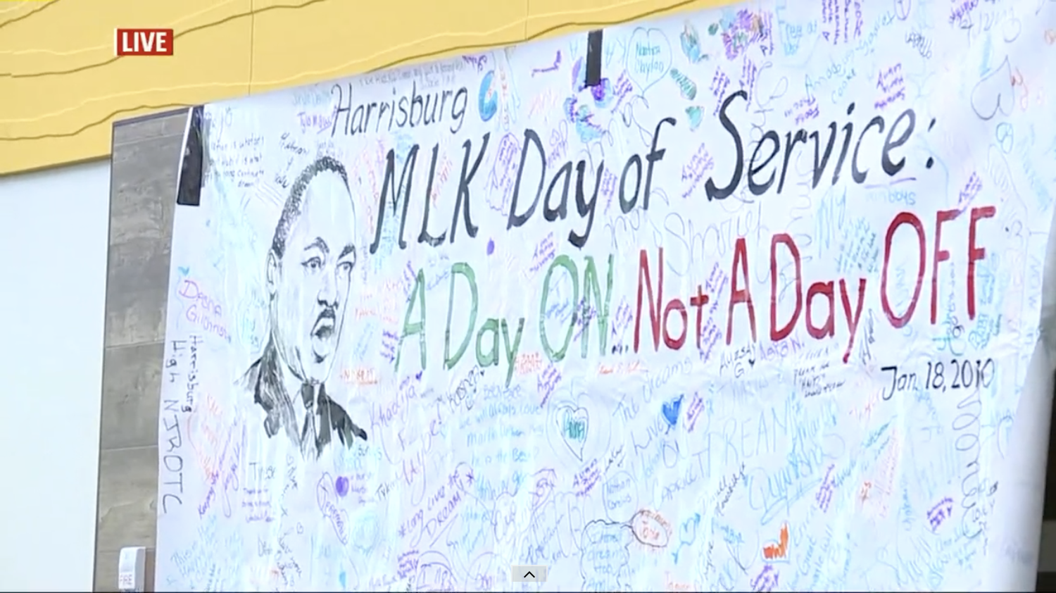 """""""A day on, not a day off,"""" Central PA MLK Day of Service to host 11th annual event in Harrisburg (Fox 43)"""